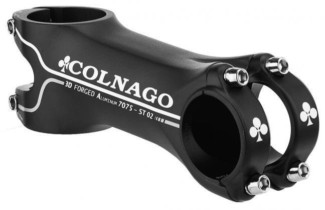 New Black Colnago ST02 Road Bike Stem size 140mm