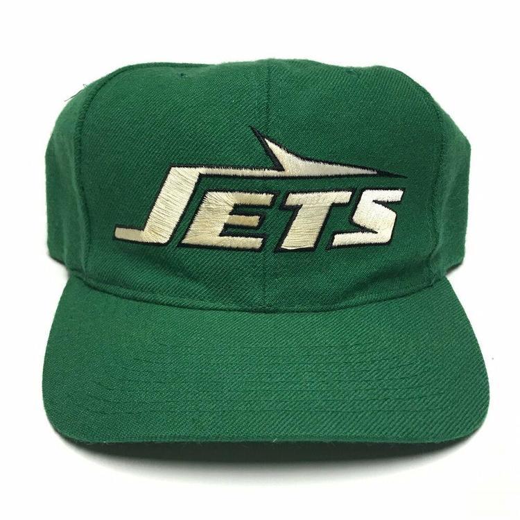 9480c737f7ac8c VTG New York Jets Starter Plain Logo Snapback Hat NFL Cap 1990s ...