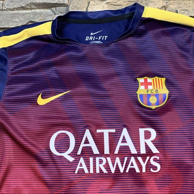 09132d9fbf4 FC Barcelona Nike Dri-Fit Soccer Jersey FCB Futbol Mens M/L. Related Items