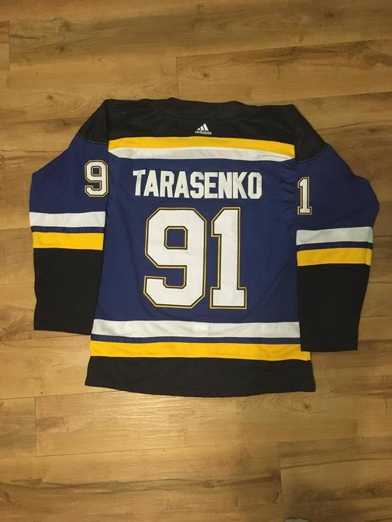 watch 50d0e 3b56e Vladimir Tarasenko St Louis Blues Jersey Large