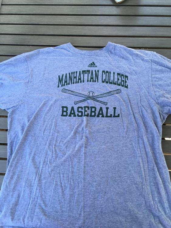 outlet store 06cdc 8dde1 Manhattan College Jaspers Baseball Shirt