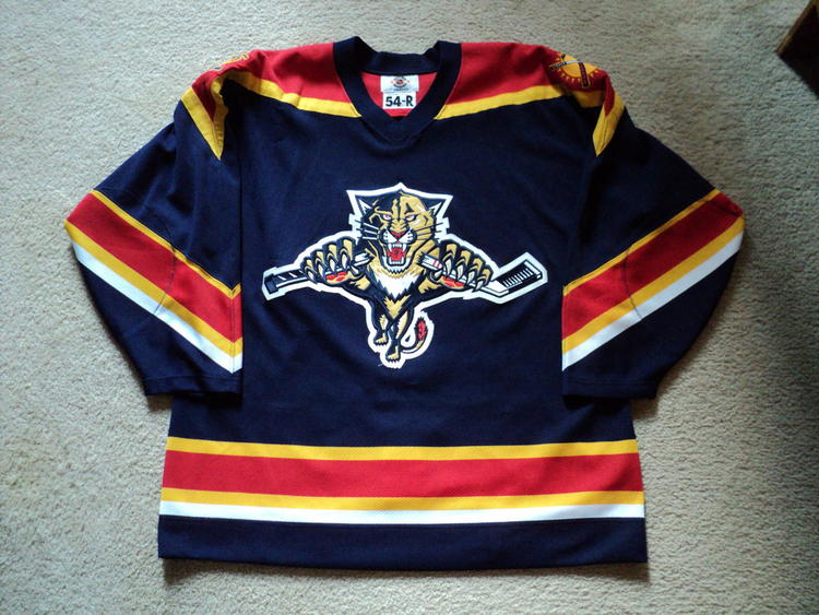 quality design 978e9 33281 Florida Panthers Starter Alternate Jersey