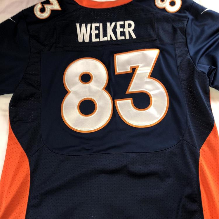 sneakers for cheap cd0ef f355f Nike Wes Welker Denver Broncos Jersey