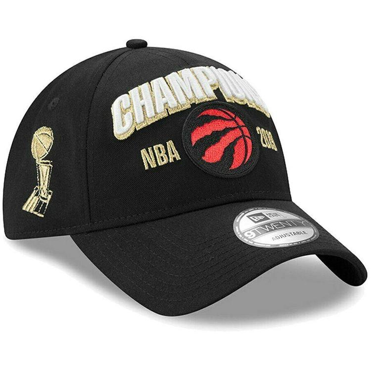 19c22bfc Toronto Raptors New Era 9TWENTY NBA Finals Locker Champions Snapback Hat  Dad Cap