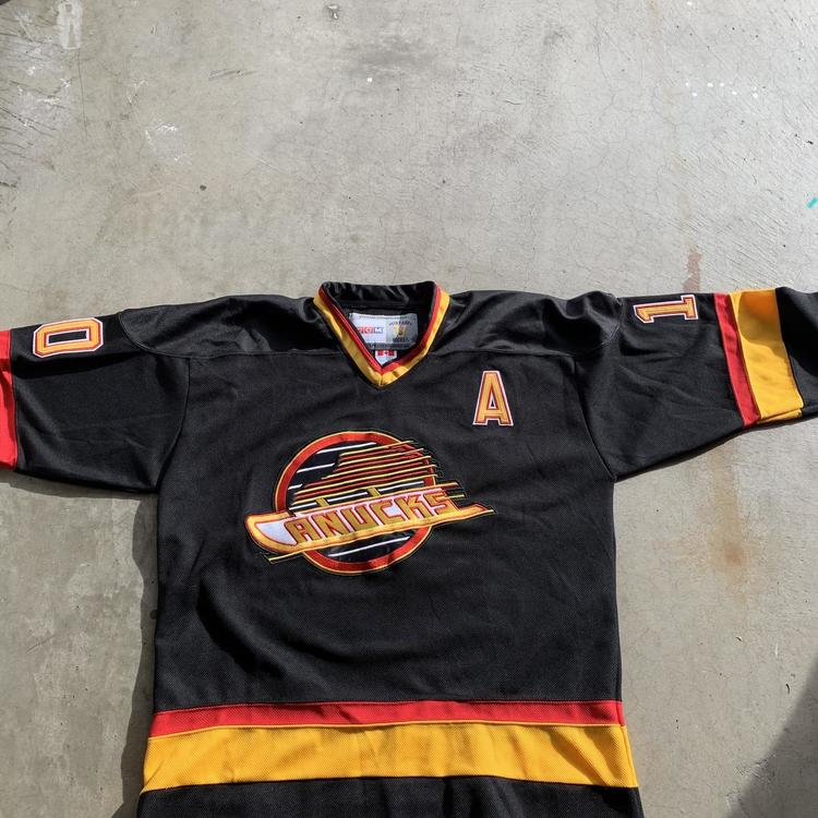 new arrivals be273 6b257 Vintage Pavel Bure Vancouver Canucks Jersey XL