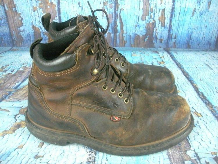 Red Wing 4215 STEEL TOE Brown Leather