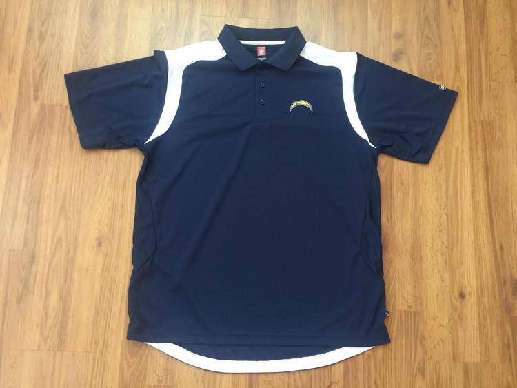 9f851302 Los Angeles Chargers SUPER AWESOME NFL Size L Polo Golf Shirt!   15% OFF    Football Apparel   SidelineSwap