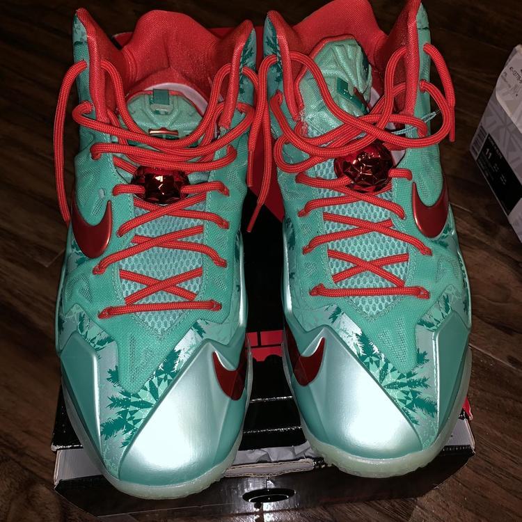 Christmas Shoes Nike.Nike Lebron Xi Christmas Shoes 11