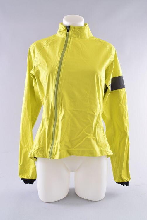 33d515f07 Rapha Rain Jacket Women's Medium Yellow Waterproof Cycling Bike Bicycle  Commute