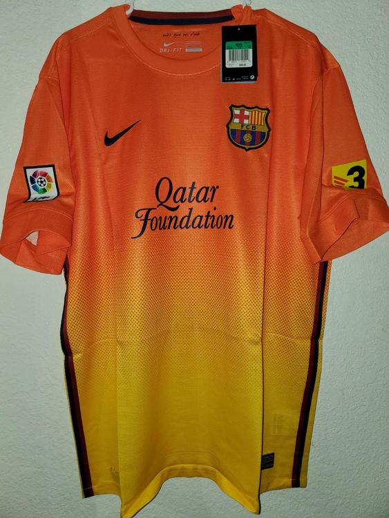 low priced 26cf9 3d59c New Nike Barcelona Home Kit (2012/2013) XL (Extra Large)