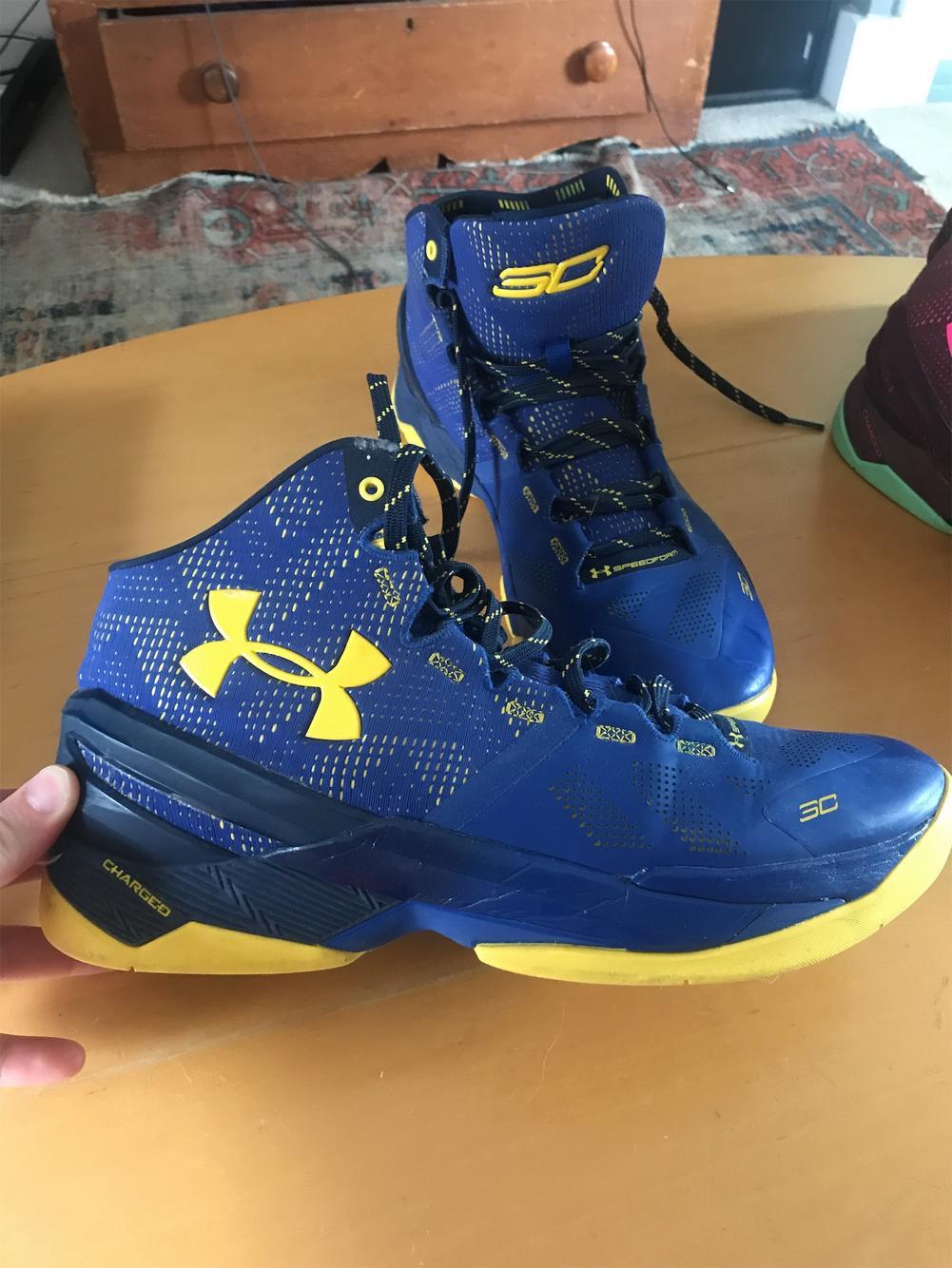 marrón girasol abrazo  Under Armour Curry 2 Size 11.5 | Basketball Shoes