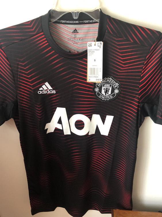 san francisco bc2f0 b8f84 Adidas Manchester United Parley Prematch Shirt BNWT