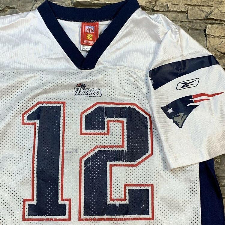 New Reebok Tom Brady New England Patriots NFL Jersey Boys Youth YXL  for sale