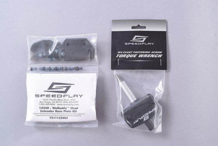 Speedplay Cleat Extender Base Plate Kit