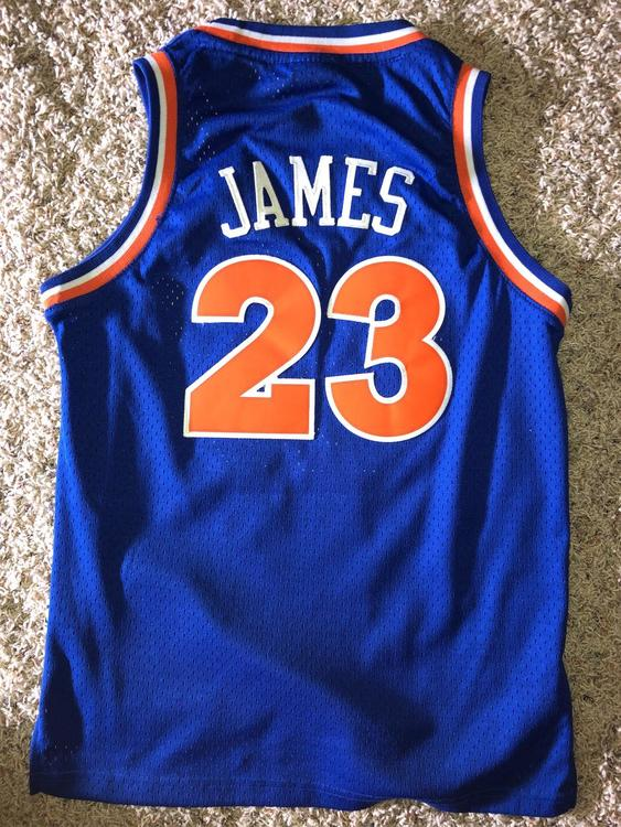 best website a6b3a c4fa2 Stitched Hardwood Classic Lebron James Jersey Youth