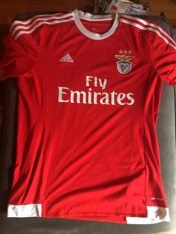 premium selection 4578b 9bf4d Benfica Adidas Jersey