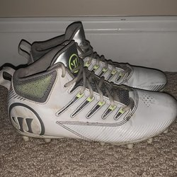 release date: a3fc4 5e9d8 Under Armour NOTRE DAME HIGHLIGHTS CLEATS SIZE 12   SOLD   Lacrosse  Footwear   SidelineSwap