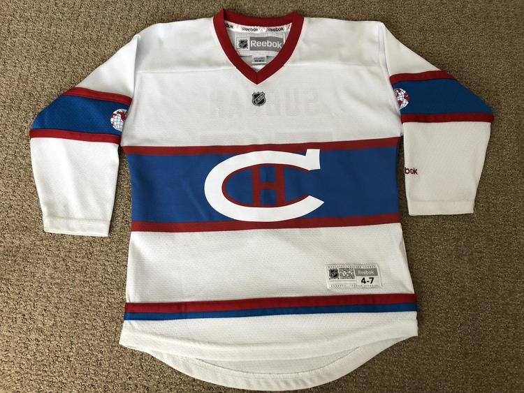 buy online 8708c fdb3c Montreal Canadiens PK Subban Jersey, Youth Size 4-7