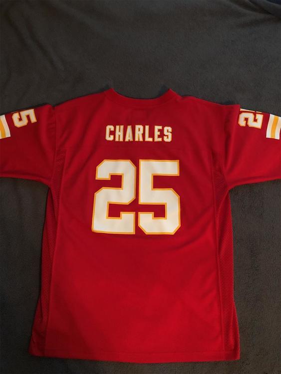 Jamaal Charles Kansas City Chiefs NFL football jersey — Youth XL