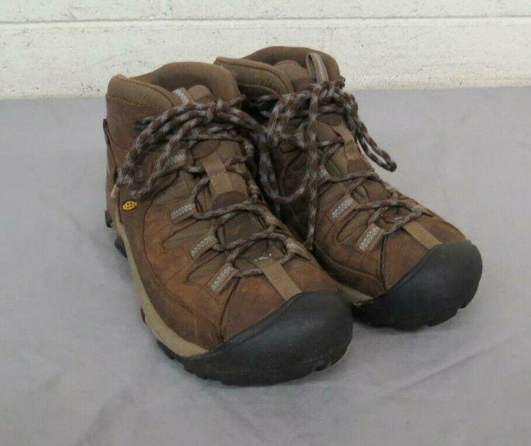901f039916d KEEN Dry Waterproof Brown Leather Hiking Boots US Women's 9 EU 39.5 GREAT  LOOK