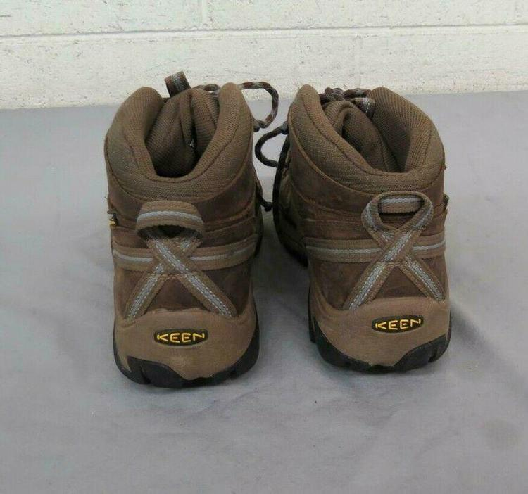 443c5f414e0 KEEN Dry Waterproof Brown Leather Hiking Boots US Women's 9 EU 39.5 GREAT  LOOK | Hike & Camp Hiking Boots & Shoes | SidelineSwap