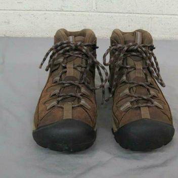 8c6c714d375 KEEN Dry Waterproof Brown Leather Hiking Boots US Women's 9 EU 39.5 ...