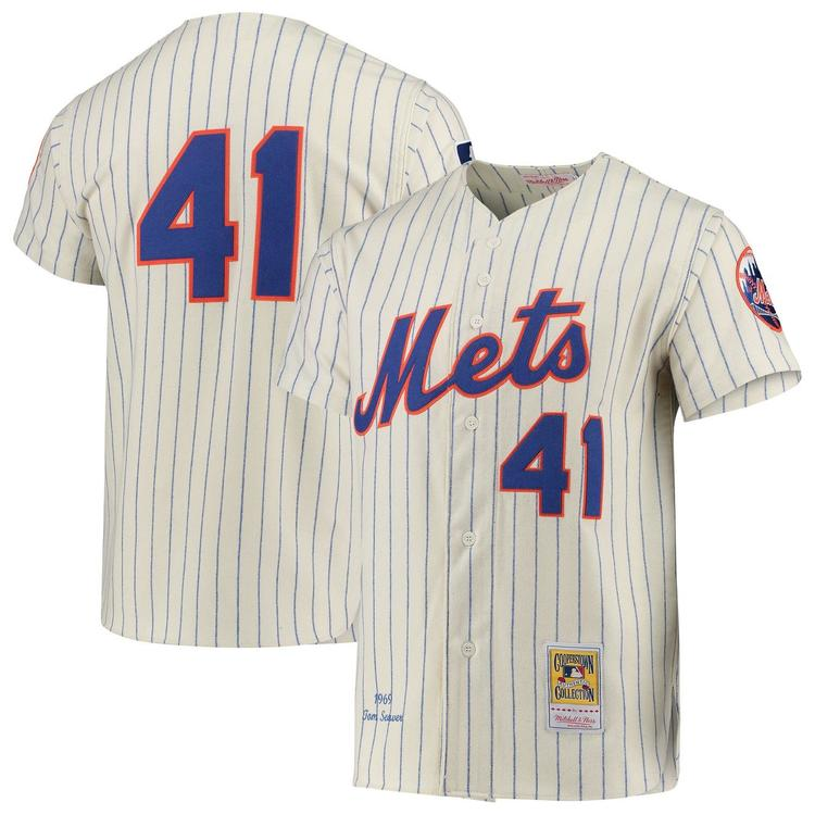 buy online 9c903 17e3d Tom Seaver 1969 Authentic Jersey New York Mets 100TH ANNIVERSARY  COOPERSTOWN AUTHENTIC COLLECTION