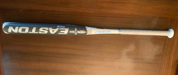 Easton 2020 Ghost Double Barrel Dual Stamp -10 Fastpitch Bat (Only used  once)