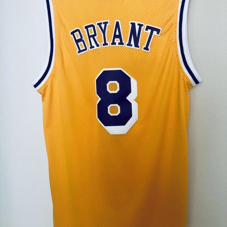 brand new 3ec5c 51b21 Kobe Bryant 1996-97 Jersey Los Angeles Lakers