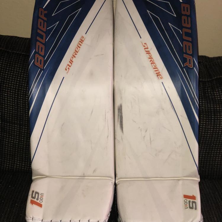 Supreme 1s OD1N Goalie Leg Pads Senior Pro Stock Large