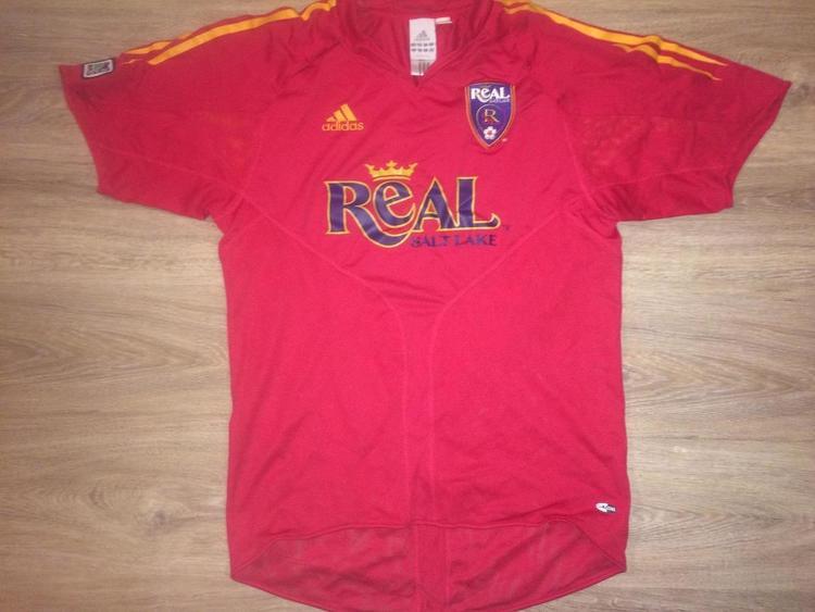 the latest 24d23 4f7d0 (Medium) New Adidas Real Salt Lake / Major League Soccer Climacool Jersey