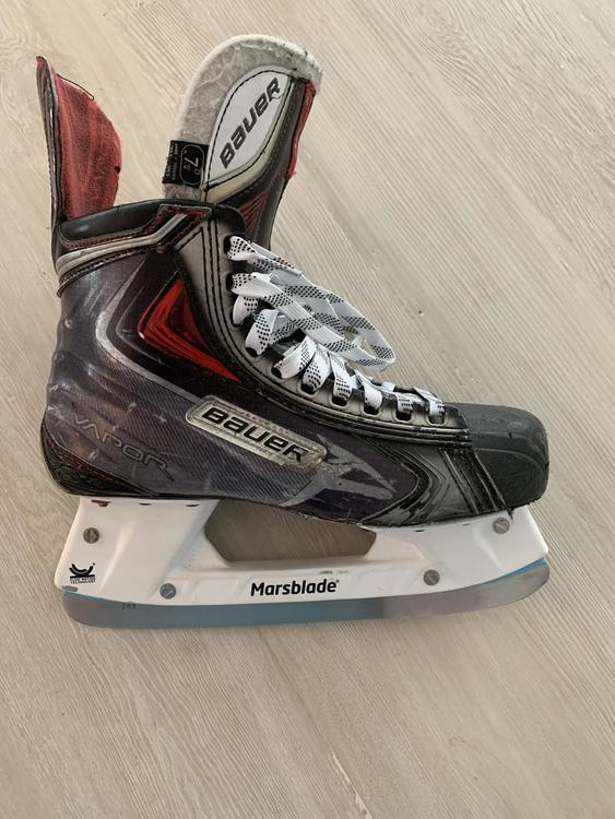 Marsblade ice holder on Bauer Vapor APX2 Hockey Skates Senior Size 7 5