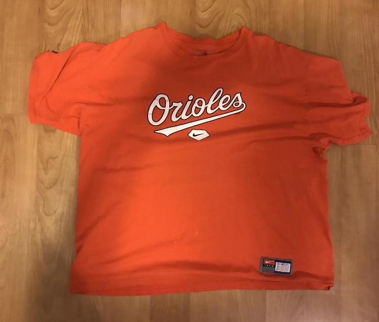 newest 48a40 2ae37 Nike MLB Baltimore Orioles Shirt