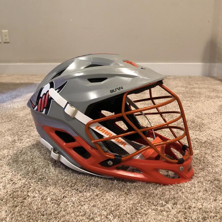 Used Denver Outlaws Team Issued Helmet - Warrior Burn - Large Size