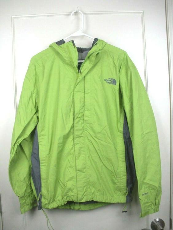 4d9463d11 The North Face Hyvent Green Waterproof Rain Jacket Coat Men's Size: M