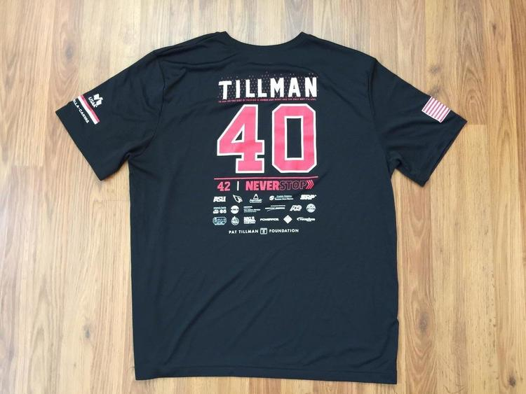 the latest ea20e de90c Arizona Cardinals Pat Tillman #40 2019 PAT'S RUN Size XL Dri Type Jersey T  Shirt! | EXPIRED | Football Apparel | SidelineSwap