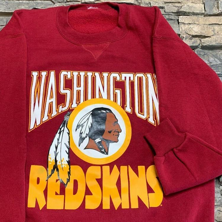 25720495 VTG Washington Redskins Crewneck Sweatshirt NFL Football Mens L/XL