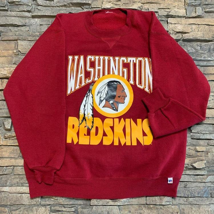 1fe94e0a VTG Washington Redskins Crewneck Sweatshirt NFL Mens L/XL | Football  Apparel | SidelineSwap