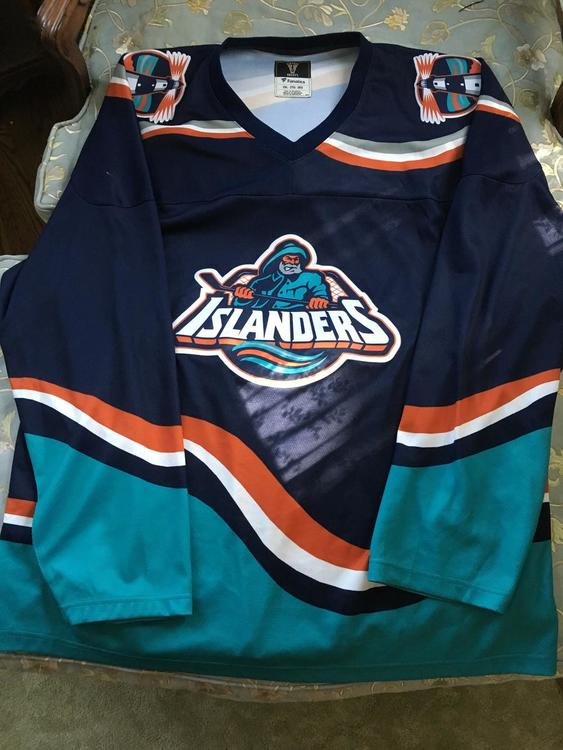 buy popular d839e 8e7e9 RARE New York Islanders fisherman jersey