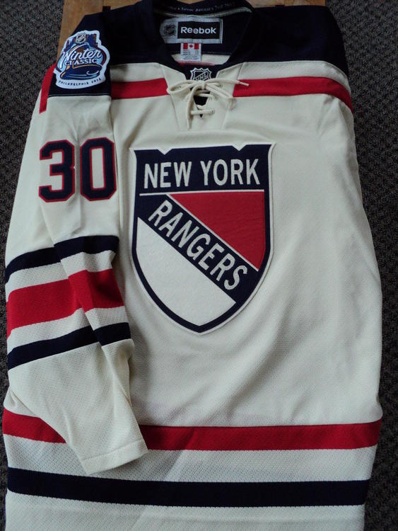 save off a850f 42569 New York Rangers 2012 Winter Classic Lundqvist Jersey