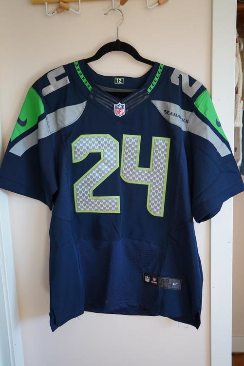 quality design f1473 0cf20 NFL Seattle Seahawks Marshawn Lynch Nike Jersey