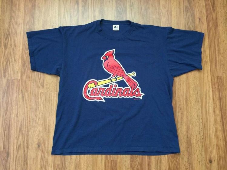 hot sale online 96103 8bed0 St. Louis Cardinals Mark McGwire #25 MLB SUPER VINTAGE Size XL Jersey T  Shirt!