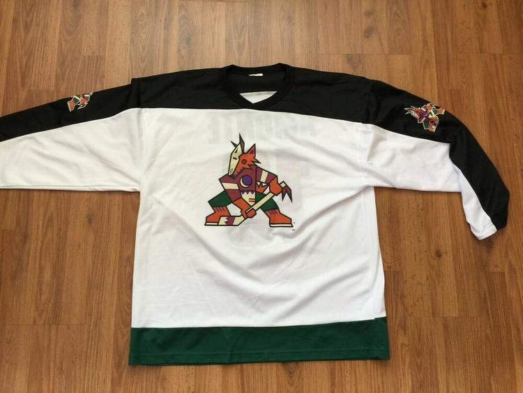 newest dd5ba b0891 Arizona Coyotes Tony Amonte #10 NHL SUPER VINTAGE PHOENIX Sz XL KACHINA  Jersey!