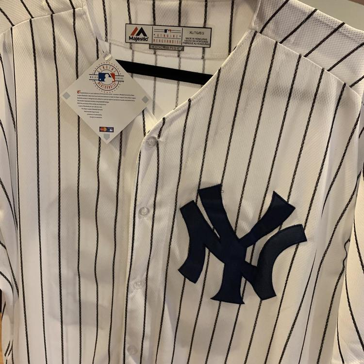 new style 3938c 1902c New York Yankees #99 Aaron Judge Home Pinstripes Replica Jersey BRAND NEW  WITH TAGS