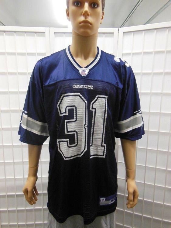 size 40 43e87 a180a Dallas Cowboys #31 Roy Williams Reebok Jersey L Vintage NFL Blue