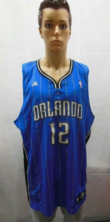 newest collection 99407 82fab Dwight Howard Orlando Magic Jersey Adidas NBA 2XL XXL Blue Pinstripes