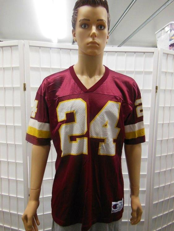 newest 127cc f49e9 Champion Washington Redskins Champ Bailey Vintage jersey size 44 Burgundy