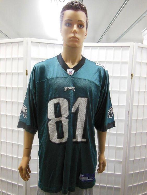 watch b88d0 dc1b8 Reebok Mens Terrell Owens Philadelphia Eagles Football Jersey XL Green NFL