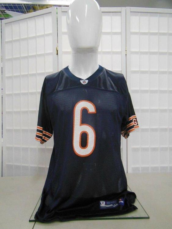 half off 0fef1 f83d7 Reebok Chicago Bears Jay Cutler NFL Jersey Youth Kids Boys Children XL