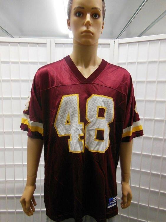 buy online 7d31f 3a844 Vintage Adidas Stephan Davis Washington Redskins Burgundy Jersey Size XL  1990s